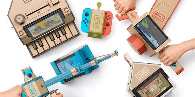 Nintendo Labo chce vyučovat děti ve školách